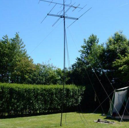 Antennemast PA3HFJ / PD0KM