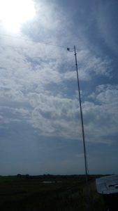Endfed antenne