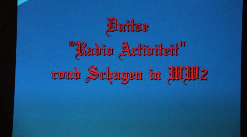 Lezing bij Veron Walcheren over radioactiviteiten van de Duitsers in WWII rond Schagen