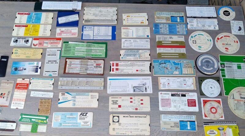 Gezocht: speciale rekenlinialen voor elektronicaberekeningen